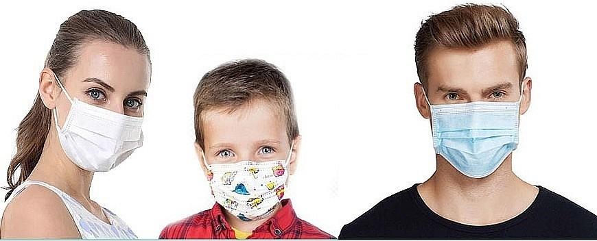 Защитные повязки для лица на 1ttd.ru