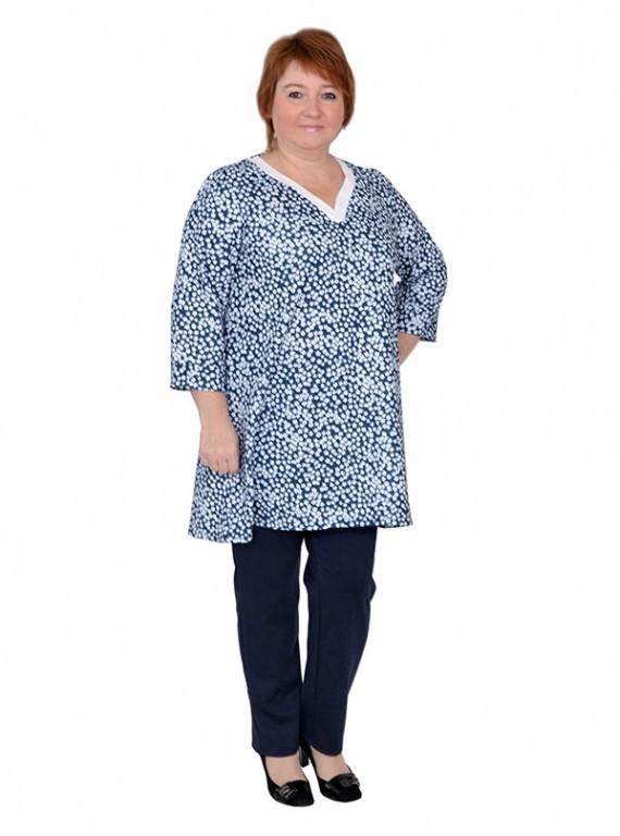 dae33e66910 Красивая туника больших размеров для женщин модель №392 Плюс Мода в  интернет магазине за 1