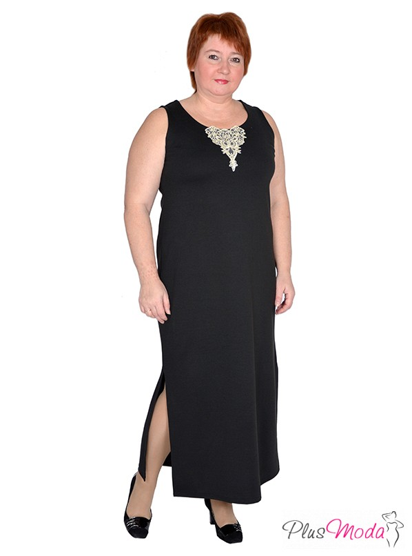 002f4410f04 Женское платье больших размеров модель №385 Плюс Мода в интернет магазине  за 2 959 руб