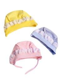 Чепчики и шапочки