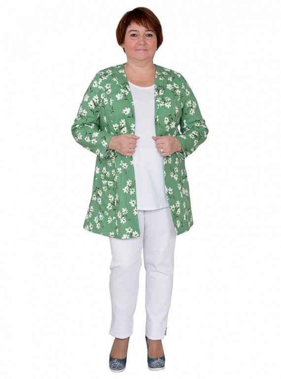 2a69014d553 Жакет женский больших размеров №412 Плюс Мода в интернет магазине за 1 900  руб.