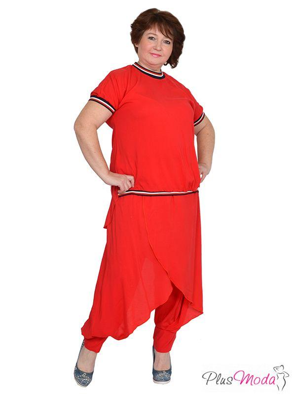 Новинки яркой одежды больших размеров для женщин на 1TTD.RU